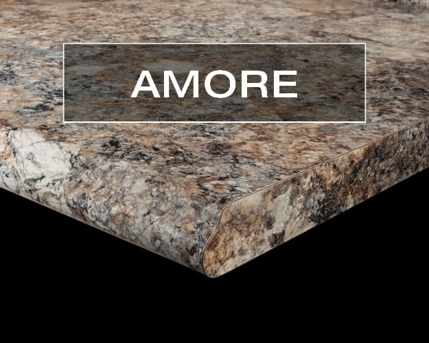 Amore Postform Countertop Edge