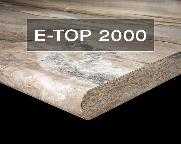 E-Top #2000 Postform Countertop Edge