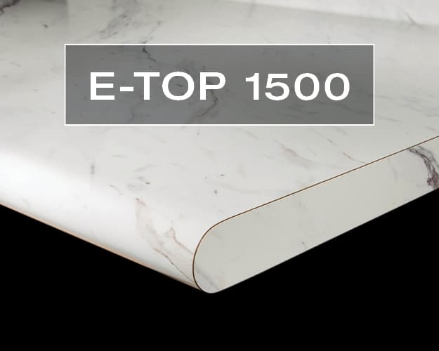 E-Top 1500 Postform Countertop Edge