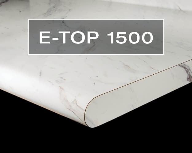 E-Top 1500 Postform Countertop Edge
